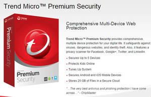 Featured image for Trend Micro $40 Off Premium Security Promo 5 – 31 Oct 2014