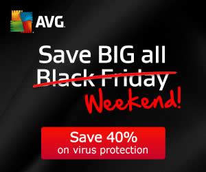 Featured image for AVG 40% Off Black Friday Promotion 28 – 30 Nov 2014