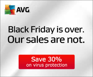 Featured image for AVG 30% Off Cyber Monday Promotion 1 – 3 Dec 2014