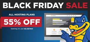 Featured image for HostGator Web Hosting 55% – 75% OFF Black Friday Promo 28 Nov – 2 Dec 2014