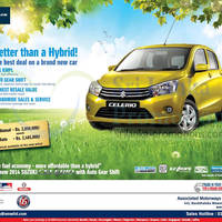 Suzuki Celerio, Better than a Hybrid! The best deal on a brand new car