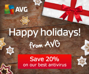 Featured image for AVG 20% OFF Security Software 22 Dec 2014 – 4 Jan 2015