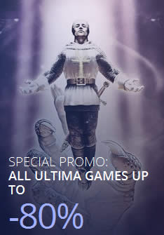 Featured image for GOG Ultima Series PC Games 80% OFF Promo 24 – 26 Dec 2014