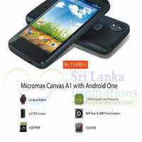 Read more about Micromax Canvas A1 Features & Offer 25 Jan 2015