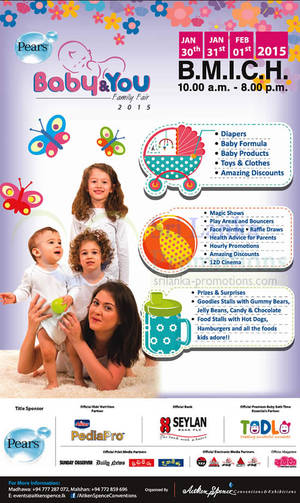 Featured image for Pears Baby & You Family Fair 2015 30 Jan – 1 Feb 2015