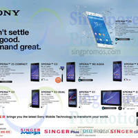 Read more about Sony Xperia Smartphones Offers @ Singer 20 Feb 2015
