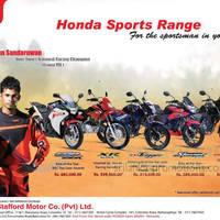 Honda CBR 250R, Honda XR 125L, Honda CB Trigger & more