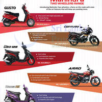 Introducing Mahindra Two wheelers, a force on the roads with state of the art features that will keep you wanting more.