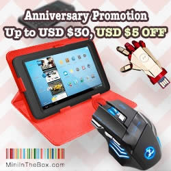 Featured image for MiniInTheBox $5 OFF Computer Accessories Coupon Code 15 Mar – 6 Apr 2015