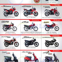 Check out the latest Honda motorcycle offers at Stafford Motors