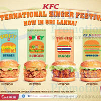 Read more about KFC NEW Zinger Festival Burgers 24 Apr - 24 May 2015