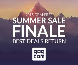 Featured image for GOG Summer Sale Finale Featuring All Bundles & Dailies 48hr Promo 19 – 21 Jun 2015