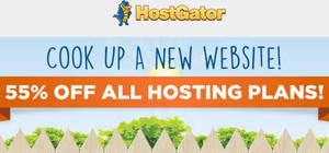 Featured image for HostGator Web Hosting 55% OFF 3-Days Promo Coupon Code 22 – 25 Jun 2015