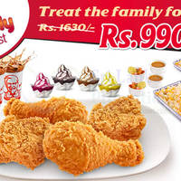Read more about KFC 40% OFF Family Feast Promotion 12 - 15 Jun 2015