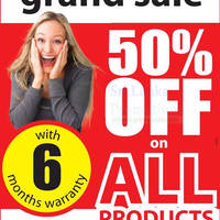 Read more about Singer 50% Off All Products Grand Sale @ Sudarshi Hall Near BMICH 6 - 7 Jun 2015