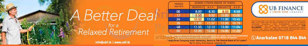Featured image for UB Finance Up To 12.68% p.a. Fixed Deposit 31 Aug 2015