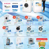 Read more about Singer, Beko, Samsung & Whirlpool Washer Offers @ Singer 27 Sep 2015