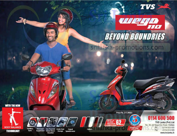 Featured image for TVS Wego 110 Bike Price & Features 1 Oct 2015