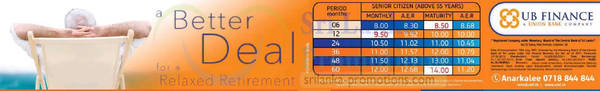 Featured image for UB Finance Up To 12.68% p.a. Fixed Deposit 13 Sep 2015