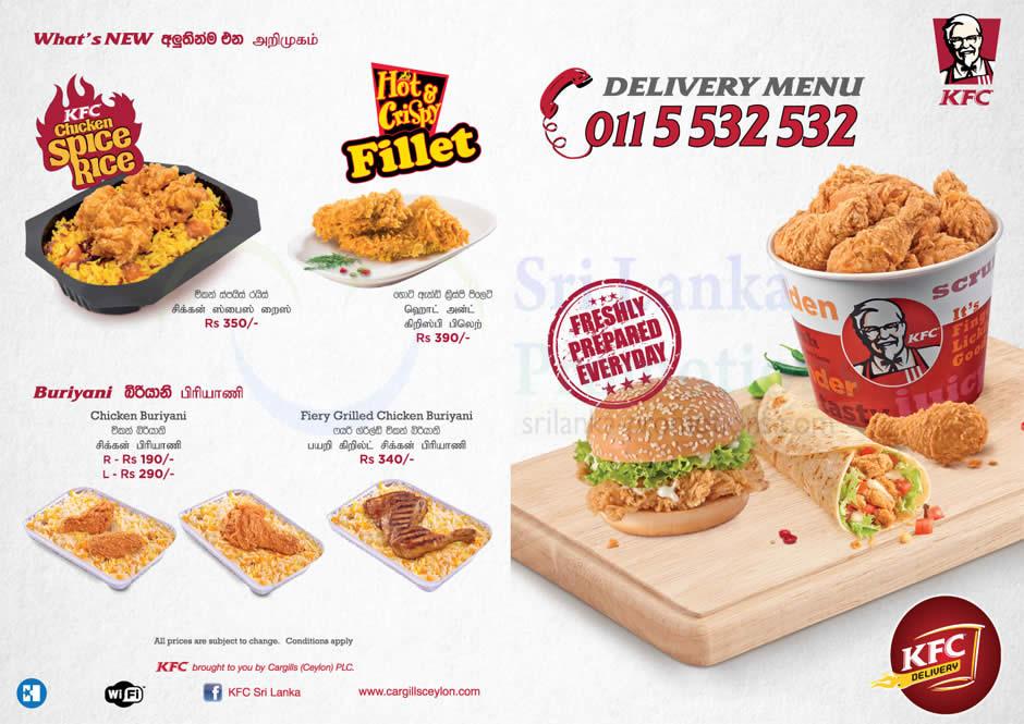 Delivery Menu, Buriyani, Spice Rice, Fillet