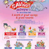 HNB Singithi Jumbo Savings Month 3 - 31 Oct 2015
