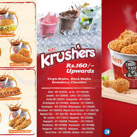 Check out the latest KFC Sri Lanka menu prices