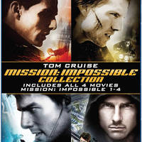 Mission Impossible 58% Off 4 Movie Pack Blu-ray Collection 12 - 13 Oct 2015