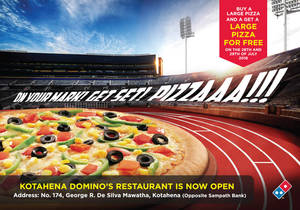 Featured image for Domino's Pizza: 1-for-1 Large Pizzas from 28 – 29 Jul 2016