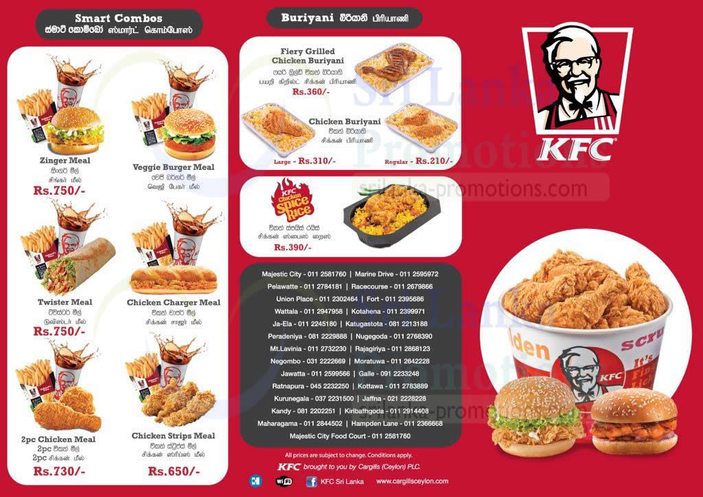 KFC Menu 2 20 Sep 2018