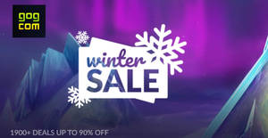 Featured image for GOG.com Winter Sale with over 1,900 deals now on till 3 January 2019
