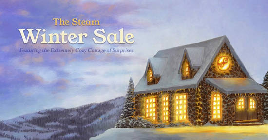 Featured image for Steam 2018 Winter Sale now on till 3 January 2019