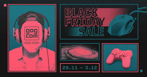 GOG.com: Black Friday Sale – 2000+ deals up to 90% off till 3 December 2019