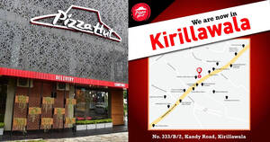 Featured image for Pizza Hut opens new outlet at Kirillawala, Kandy Road (From 1 Oct 2021)