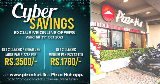 Featured image for Pizza Hut: Save on Classic / Signature pizzas with these online deals valid till 31 Oct 2021